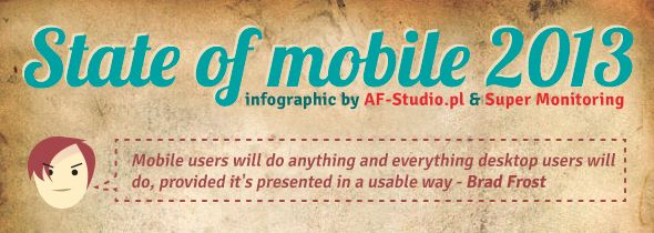 The state of mobile 2013 [infographic]