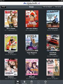 Tijdschrift.nl lanceert iPad app, prijs 20% lager dan gedrukte exemplaren