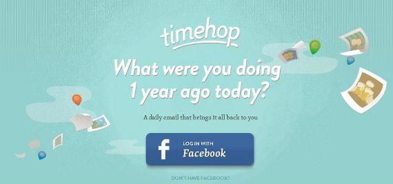 Timehop: je digitale verleden in je inbox