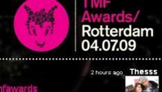 TMF Awards artiesten, VJ's & bezoekers twitteren liveverslag