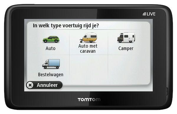 TomTom introduceert GO LIVE Camper & Caravan