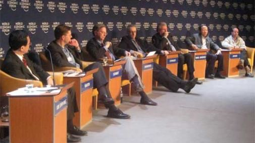 Topcast bij The Future Of Mobile Technology in Davos