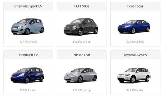 Tred: gratis proefritjes met een elektrische auto