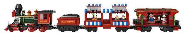 Trein LEGO Disney