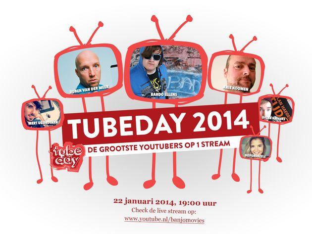 Tubeday: het eerste YouTube Community live event van Nederland