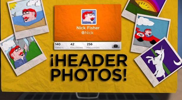 Twitter herinnert gebruikers eraan om een headerfoto te uploaden