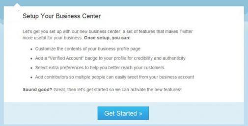 Twitter komt met een Twitter Business Center