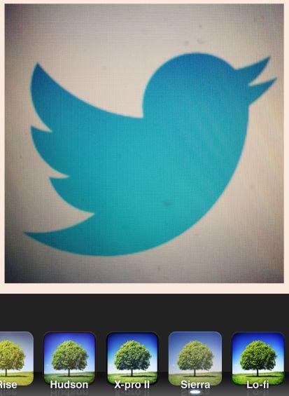 Twitter komt met 'Instagram' filters