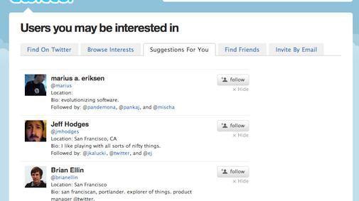 Twitter komt met nieuwe service voor het vinden van de juiste Followers