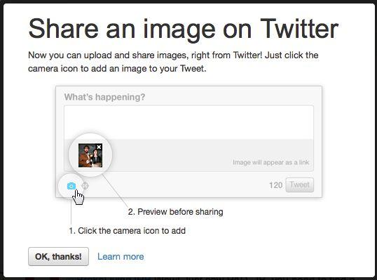 Twitter komt met 'photo sharing' functie
