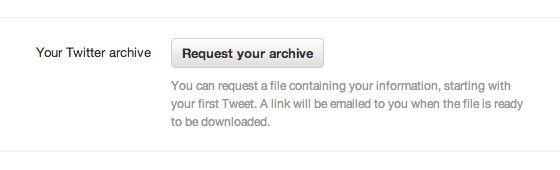 Twitter start met uitrol optie om al je tweets te downloaden