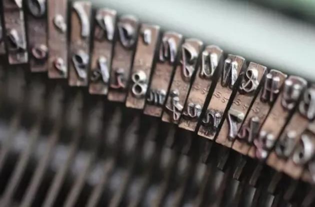 typemachine-toetsen