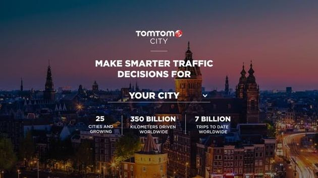 TomTom City interface