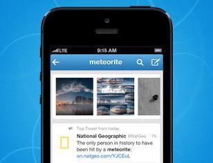 Update mobiele app twitter: verbeteringen aan search, zoeken op het web en meer