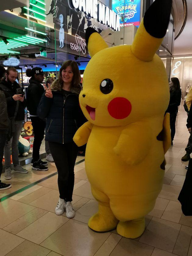 Pokémon-gekte rond middernacht bij Game Mania