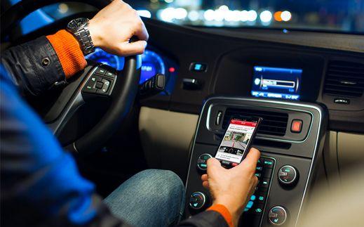 Vandaag start campagne tegen smartphone-gebruik in de auto