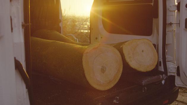 Vattenfall_fossilfree crib_wood transport EV