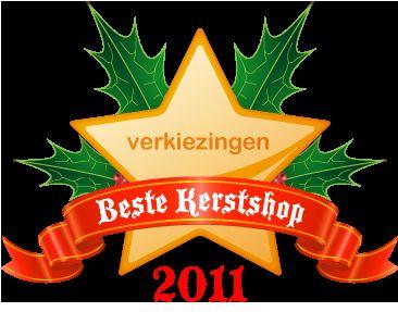 """Verkiezing """"Beste Kerstshop 2011"""""""
