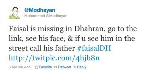 Vermist kind wordt met de hulp van Twitter binnen 3 uur gevonden