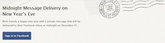 Verstuur automatisch een nieuwjaarswens met Facebook