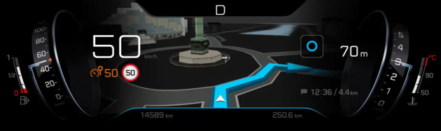 new_i-Cockpit_Peugeot_headup_display_navigation
