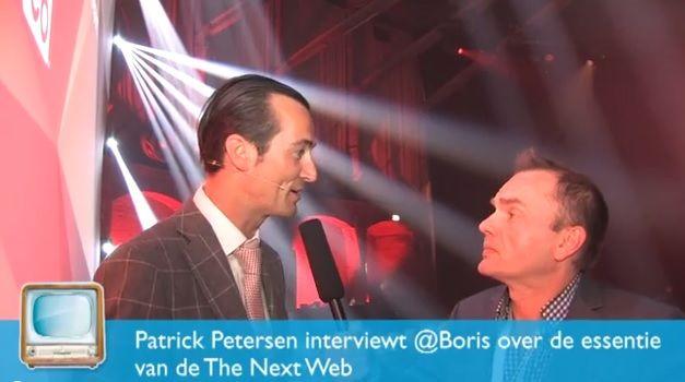 [Video] Interview met @Boris over de essentie van The Next Web