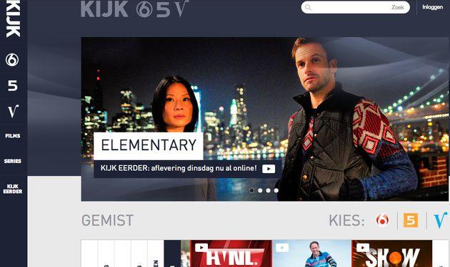 Video-on-demand platform SBS: Kijk.nl