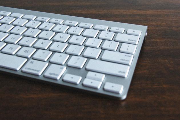vies-toetsenbord-kantoor