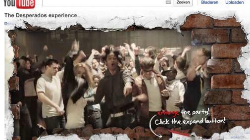 Virale hit voor Desperados op YouTube
