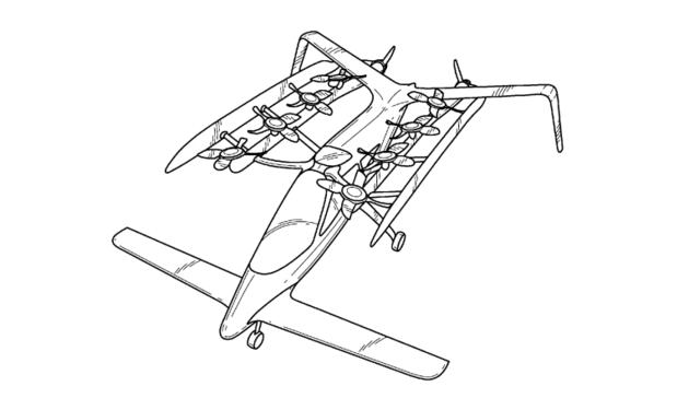 vliegende auto google