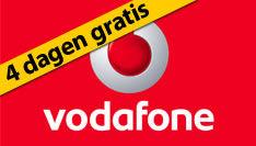Vodafone vier dagen gratis
