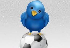 Voetballers scoren (op Twitter)