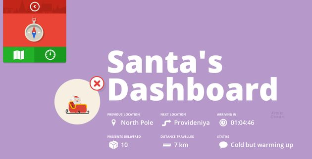 Volg de Kerstman via Google Maps