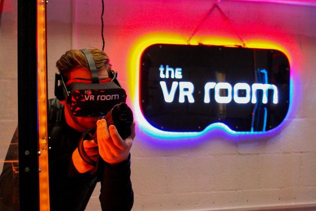 VR Lasergame VR Room Amsterdam