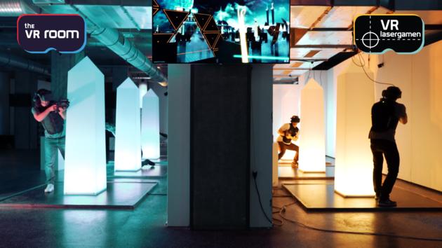 VR Lasergamen