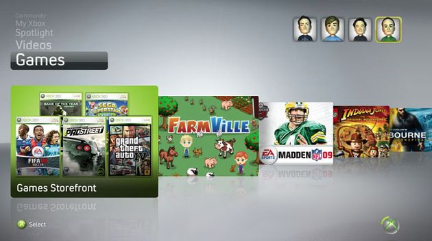 Waarom zijn er geen social games op Xbox Live?
