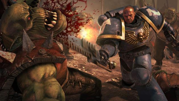 Warhammer 40000 Space Marine, wanen in het leven van een echte Space Marine