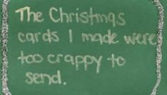 Wat is de lelijkste kerstkaart van 2009?