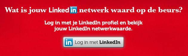 Wat is jouw LinkedIn netwerk waard op de beurs?