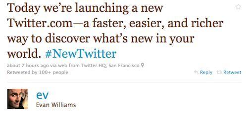 Wat vinden we van de nieuwe Twitter, sneller, eenvoudiger met meer functies
