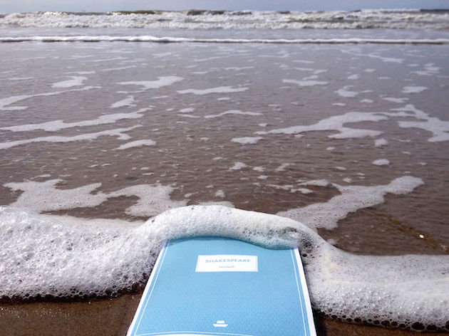 Waterproof-book-shakespeare