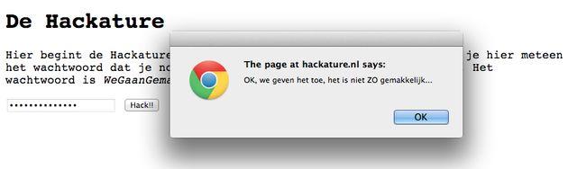 Website hacken voor functie als webdeveloper