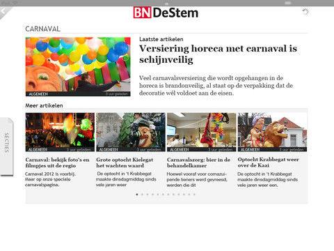 Wegener lanceert iPad apps voor de regionale dagbladen
