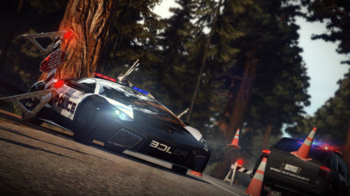 Wegmisbruikers+Burnout+3D=Need for Speed Hot Pursuit