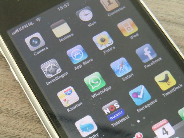 Weinig geduld met mobiele applicaties
