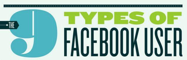 Welk type Facebook gebruiker ben jij? [infographic]