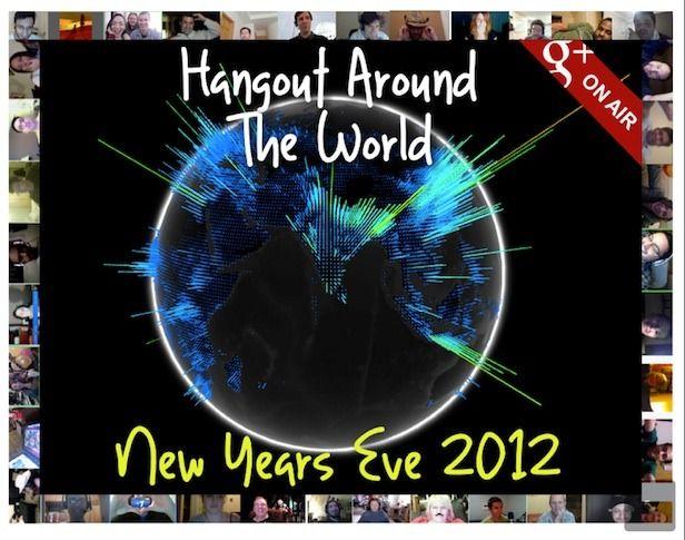 Wereldwijd Oud-en-Nieuw vieren met een Google+ Hangout