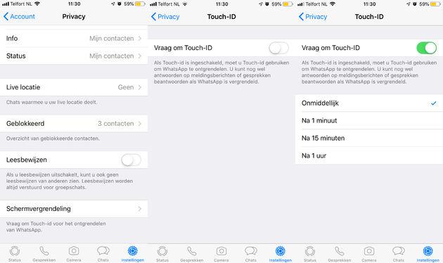Whatsapp-Touch-ID