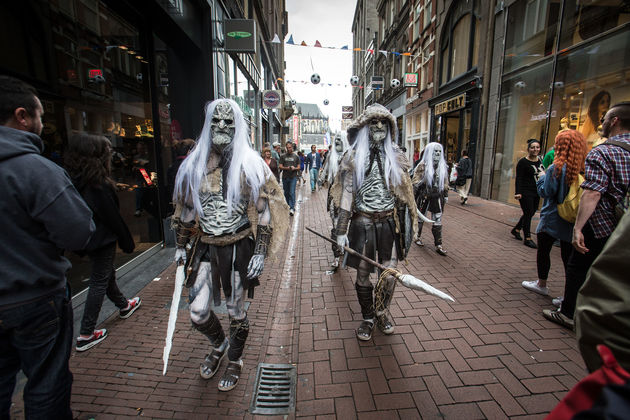 White Walkers in Amsterdam gespot