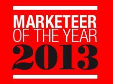 Wie wordt 'Marketeer of the Year 2013'?